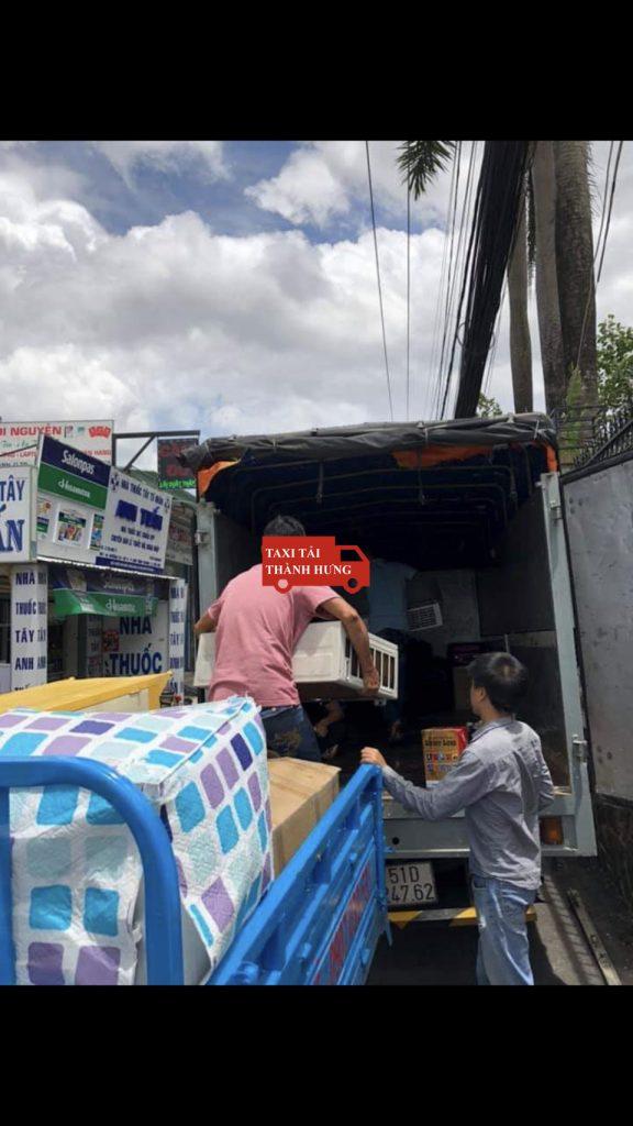 chuyển nhà thành hưng,Taxi tải Thành Hưng quận 4 tháng 5 năm 2020