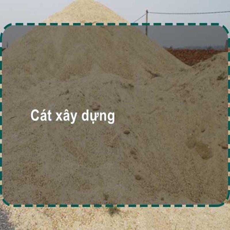 Giá cát xây dựng khả năng cạnh tranh cao
